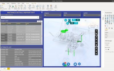 Autodesk Forge asset analysis Power BI template