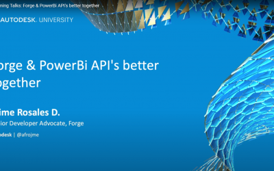 Forge & PowerBi API's better together